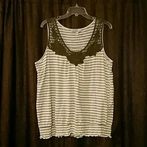 French Laundry Woman,  Sleeveless Top, Size 18/20